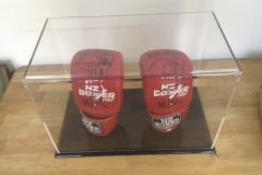 Acrylic Boxing Glove display case