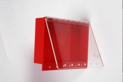 Acrylic lock out box