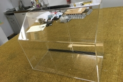 Acrylic food display cabinet