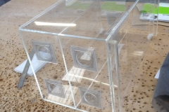 Ventilated Acrylic display cabinet