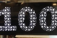 LED celebration sign