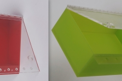 Acrylic Lockout boxes
