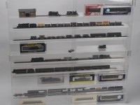 Model Train Display Cabinet