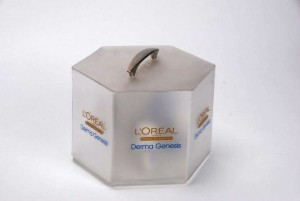 L'Oreal Display Case